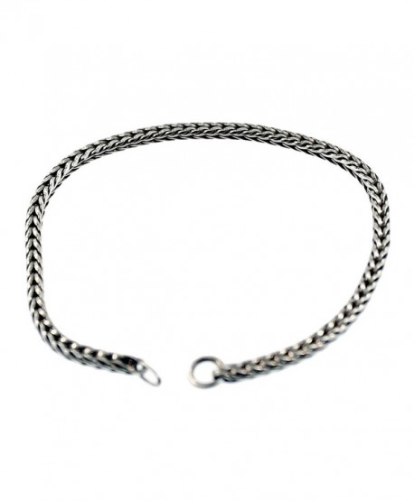 Authentic Trollbeads Sterling Silver 15218 Bracelet Silver 7.1 inch - CI187NK8A62