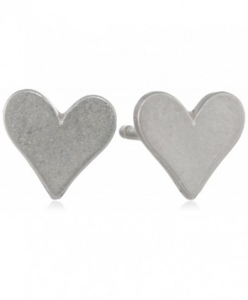 Dogeared Little Things Sterling Earrings