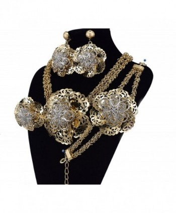 MOOCHI Plated Double Necklace Jewelry in Women's Jewelry Sets
