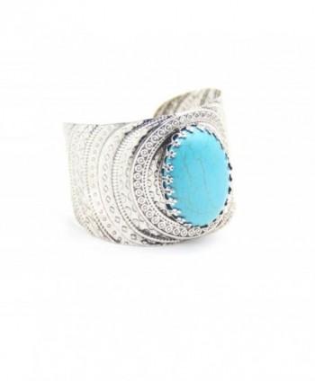 Vintage Turquoise Handmade Fashion Bracelet in Women's Cuff Bracelets
