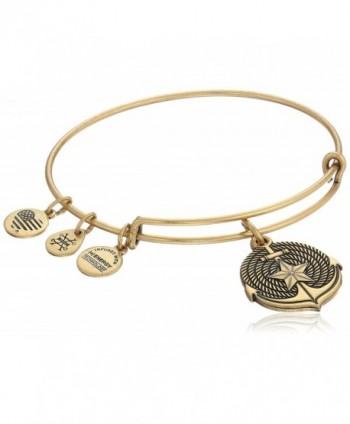 Alex and Ani Anchor II EWB Bangle Bracelet - Rafaelian Gold - C512EPJBGER