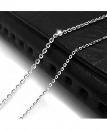 Stainless Necklace Titanium Pendant Jewelry in Women's Chain Necklaces