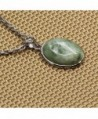 Amandastone Gemstone Natural Strawberry Necklace in Women's Pendants