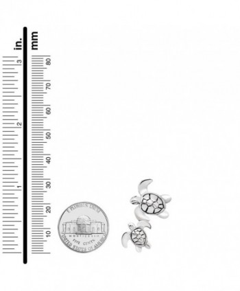 Sterling Silver Turtle Pendant Neacklace in Women's Pendants