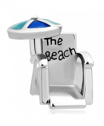 Q&Locket Holiday The Beach Chair Charm Summer Charms European Bead For Bracelet - CT18959A4HG