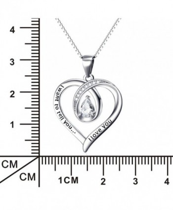 Angel caller Engraved Infinity Necklace in Women's Y-Necklaces