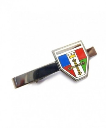 Voltron Defender of the Universe Crest Mini Shield Tie Bar Clip - C511N1DYQZ5