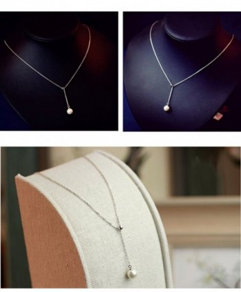 Sterling Freshwater necklace Necklace Handmade in Women's Jewelry Sets