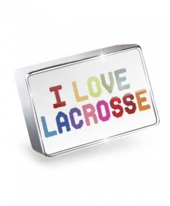 Floating Charm I Love Lacrosse Fits Glass Lockets- Neonblond - I Love Lacrosse-Colorful - CA11Q3UX1A3