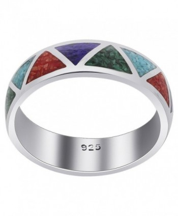 Gem Avenue Unisex Sterling Silver