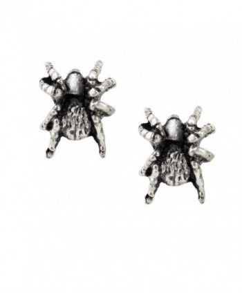 Black Widow Pair of Earrings by Alchemy Gothic - CL11Q64RZQ3
