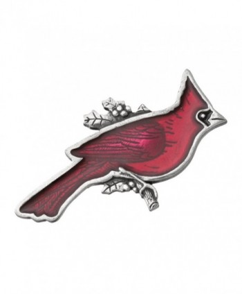 Danforth - Cardinal Pewter Brooch Pin - C611C99594T