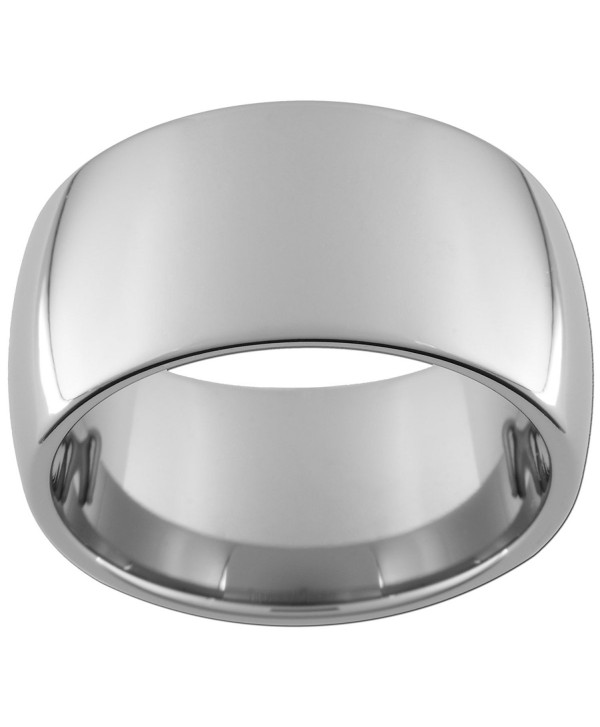 12mm Tungsten Carbide Dome Ring (full and half sizes 5-15) - CP118Q8FSZH