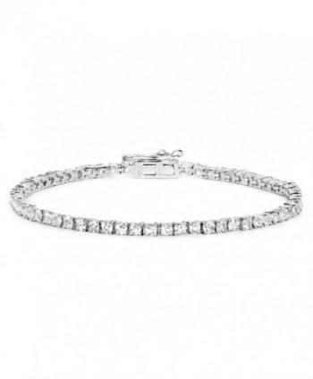Carat Genuine Sterling Silver Bracelet