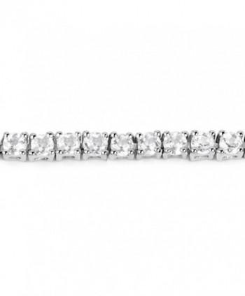 Carat Genuine Sterling Silver Bracelet in Women's Tennis Bracelets