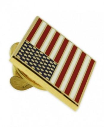 PinMarts Plated Rectangle American Enamel
