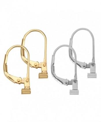 Convertiblez Earring Converters Plated Silver