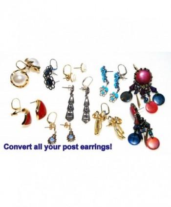 Convertiblez Earring Converters Plated Silver in Women's Earring Jackets