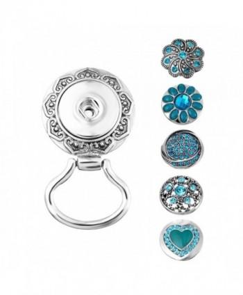 "Souarts Interchangeable Eyeglass Magnetic Rhinestone - "" Blue "" - C5183G83DA9"