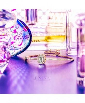J NINA Midsummer Rose Gold Girlfriend Anniversary in Women's Cuff Bracelets