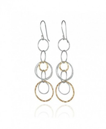 Interlinked Circles Earrings Sterling Earring