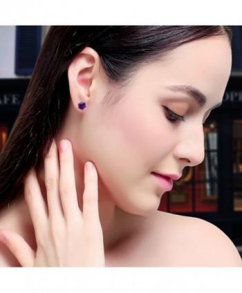 J F%C3%A9e SISN Purple Aurora Borealis Earrings in Women's Stud Earrings