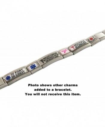 Dementia Medical Alert Italian Bracelet