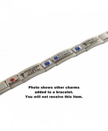 Dementia Medical Alert Italian Bracelet in Women's ID Bracelets