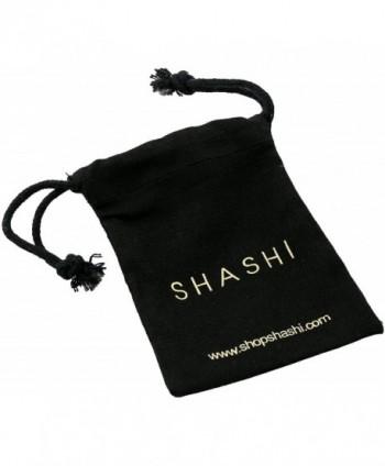 SHASHI Whitney Yellow Earrings Jacket in Women's Earring Jackets