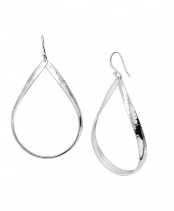 Silpada 'Do the Twist' Sterling Silver Open Oval Drop Earrings - C812O4KQGTJ