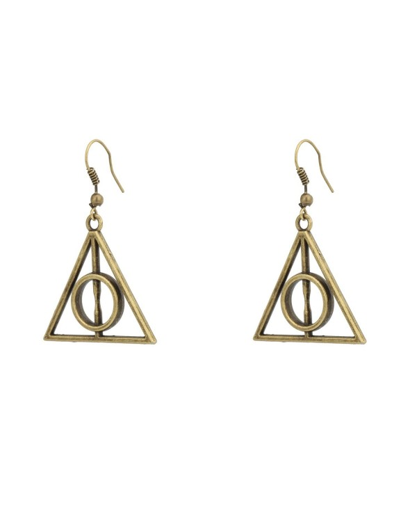 Accessorisingg HP Bronze Deathly Hallow Earrings [ER029] - CZ12L8L459X