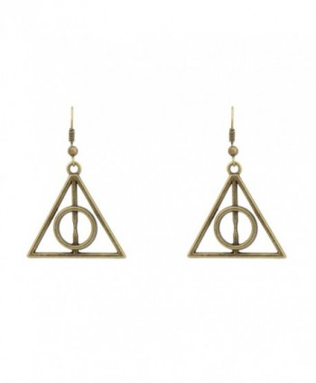 Accessorisingg Bronze Deathly Hallow Earrings