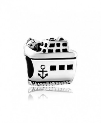 CharmSStory Cruise Steamship On The Beach Retro Small Anchor Charm Bead For Bracelets - CO12O3L3XMI