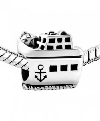 CharmSStory Cruise Steamship Anchor Bracelets