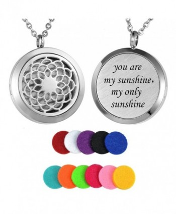 HooAMI Aromatherapy Essential Diffuser Necklace - you are my sunshine - CM12NUSCK3S