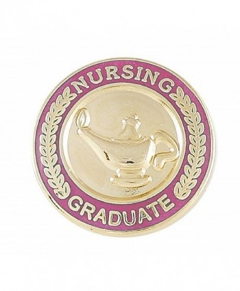 Nursing Pin-- Graduation Pinning Ceremony For Nurses (RN- MSN- BSN- CNA etc) Pink Enamel Pin (Value Pack) - C312N411DSV