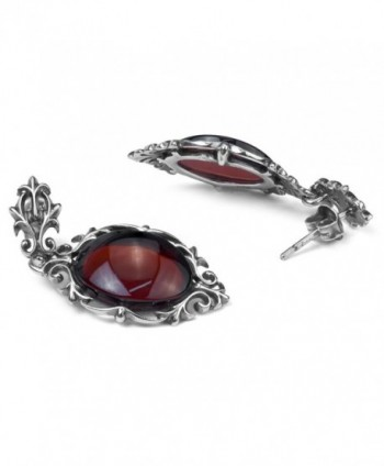 Cherry Sterling Silver Antique Earrings
