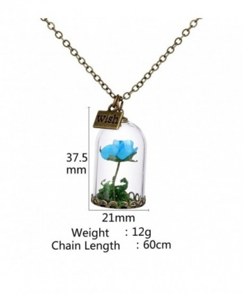Womens Handmade Cylinder Necklace Wish in Women's Pendants
