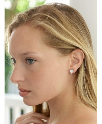 Mariell Clip Solitaire Earrings Accents