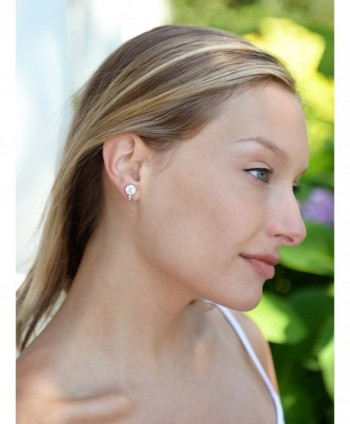Mariell Clip Solitaire Earrings Accents in Women's Clip-Ons Earrings