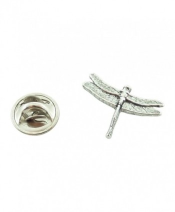 Creative Pewter Designs- Pewter Dragonfly Mini Pin- Antiqued Finish- A028MP - CT127C07HE9