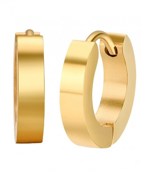 Shally 18K Gold Plated Linked Earrings Round Hoop Earrings - CK182DM2KII