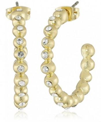 Karen Kane Summer Solstice Hoop Earrings - Gold Tone - CA126L23PGN