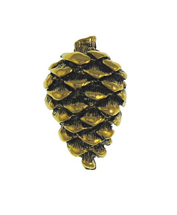 Pine Cone Gold Lapel Pin - C81172NZMRB