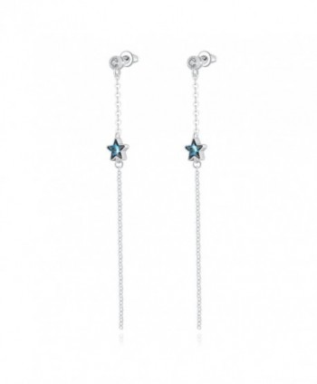 PLATO Earrings Five pointed Swarovski Crystals - CI12N82QJJ9