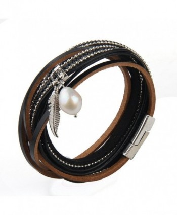 Genuine Leather Vintage Bracelet Jenia in Women's Bangle Bracelets