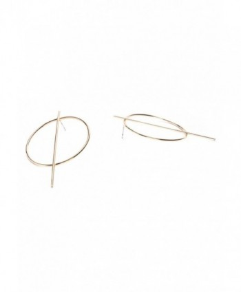Hoop Earrings Color Modern nickel in Women's Hoop Earrings