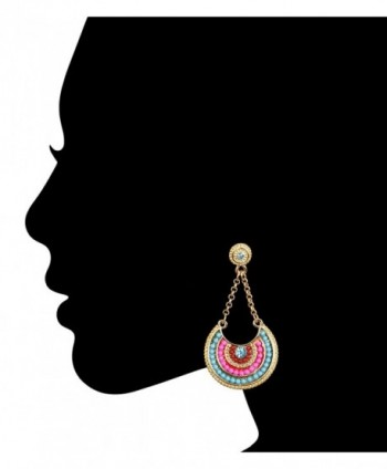 Family Jewels VIB2 Multicolor Earrings in Women's Drop & Dangle Earrings