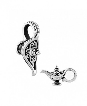 QueenCharms Aladdin's Magic Lamp Charm Lucky Genie Lamp Beads For Bracelets - CR186N54425