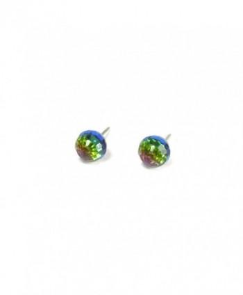 Vitrail Faceted Swarovski Austrian Earrings in Women's Stud Earrings